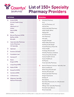 Specialty Pharmacy Providers List PDF, Thumbnail